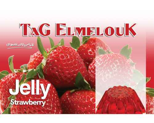 Tag El-Melouk Jelly Strawberry 80G