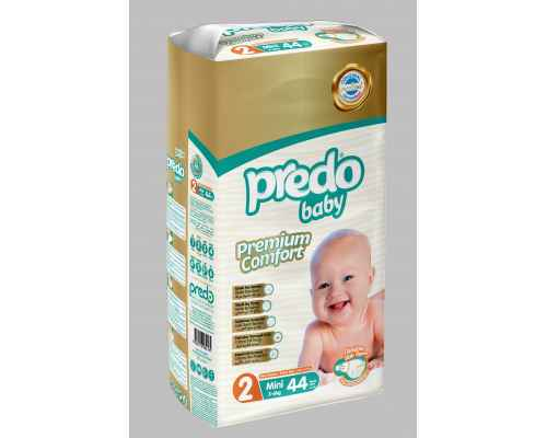 Predo Baby Diapers - Twin Pack