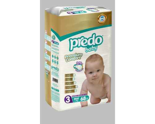 Predo Baby Diapers - Jumbo Pack