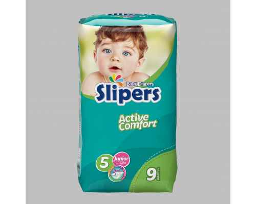 Slipers Baby Diapers - Standard Pack