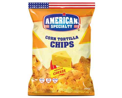 Corn Tortilla Chips American Cheese