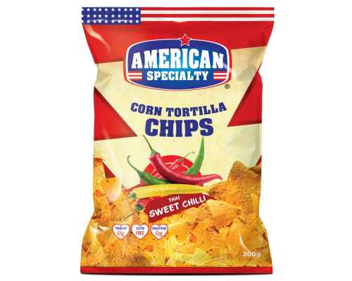 Corn Tortilla Chips Thai Sweet Chilli