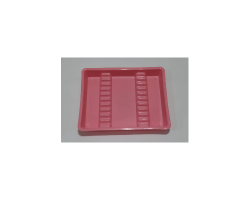 Small plastic tray for tools