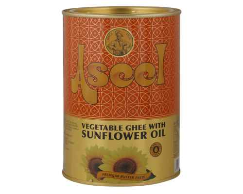 Aseel Trans-Fat Free Vegetable Ghee with Sunflower Oil