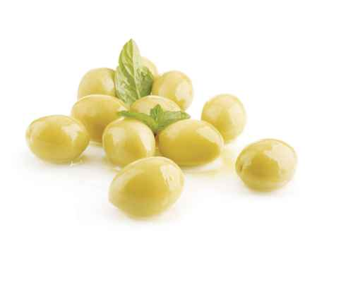 whole Green Picual olive